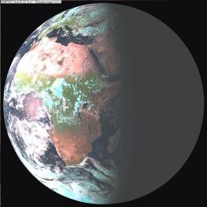 L'equinozio d'autunno visto dal satellite Meteosat