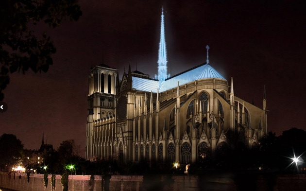 Come sarà la nuova Notre-Dame?