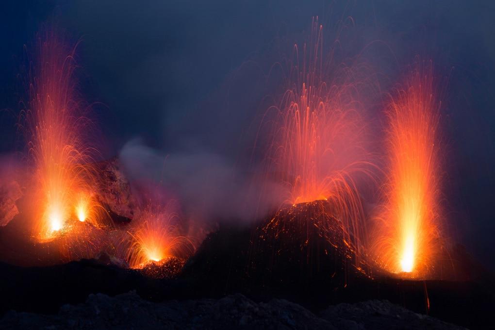 La penisola dei vulcani