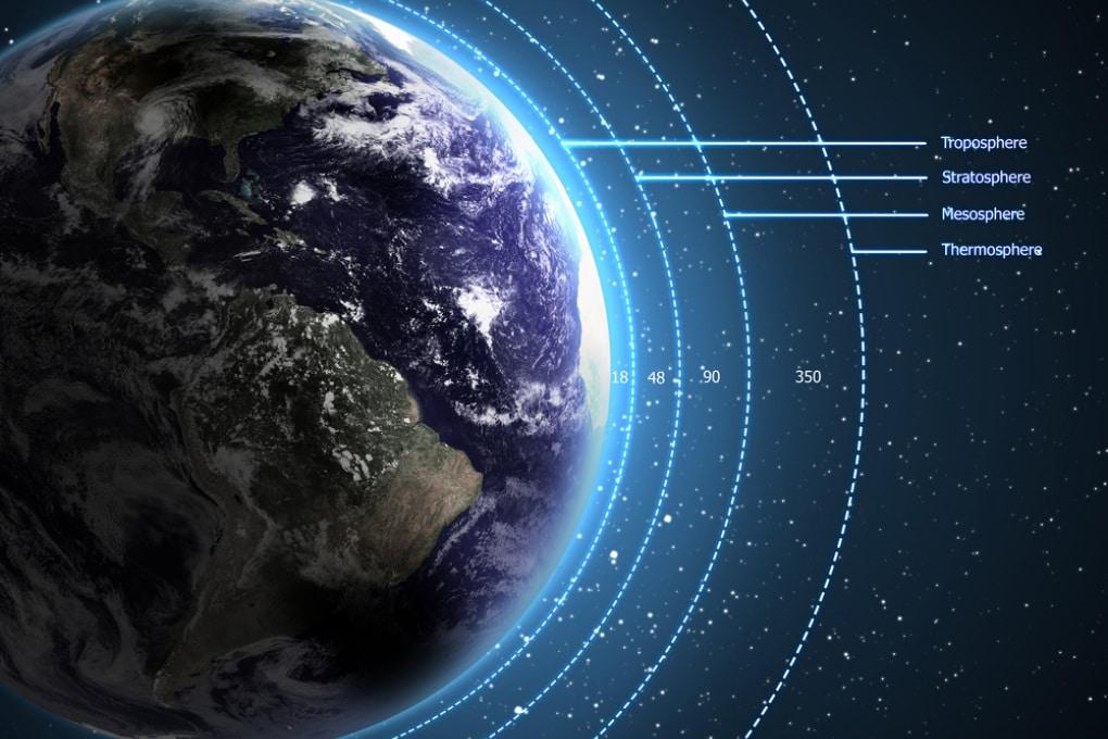 L'atmosfera della Terra: com'è fatta, fino a dove arriva