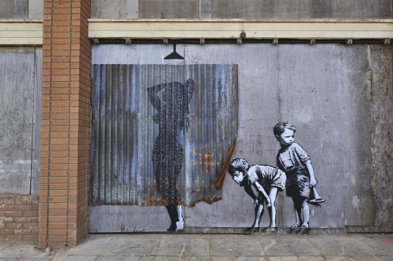 banksy, street art, graffiti, guerrilla art, murales, arte contemporanea