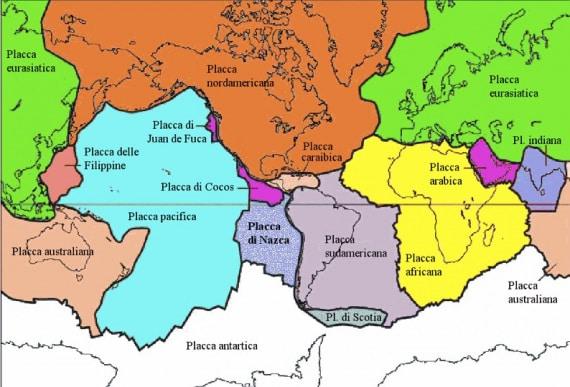 struttura della Terra, placche terrestri, tettonica delle placche, geologia, geofisica