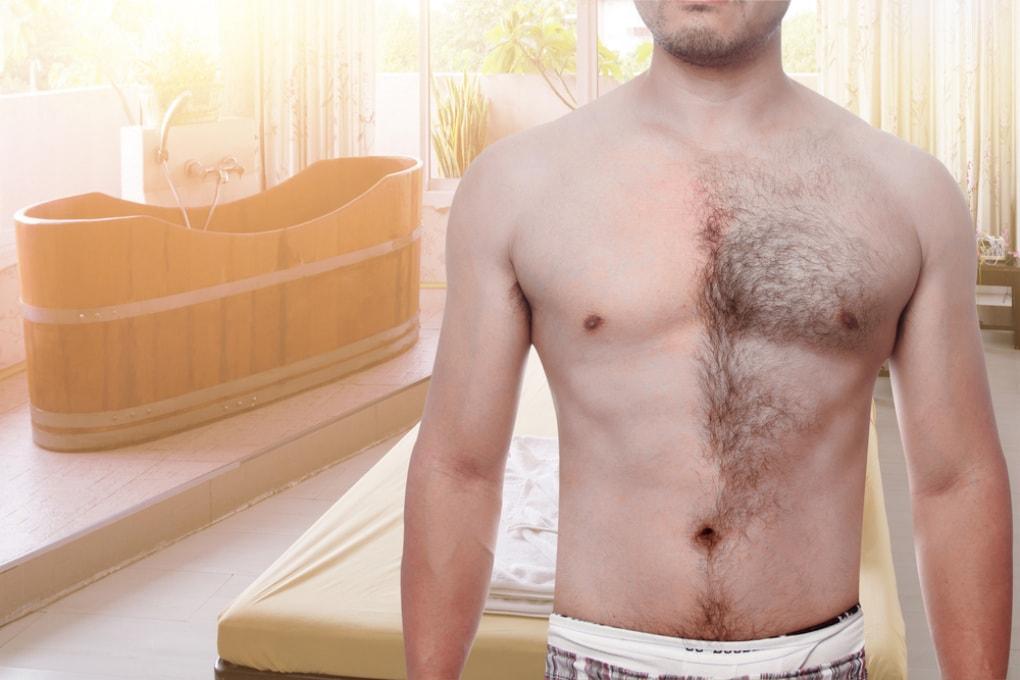 Quanti maschi italiani si depilano?