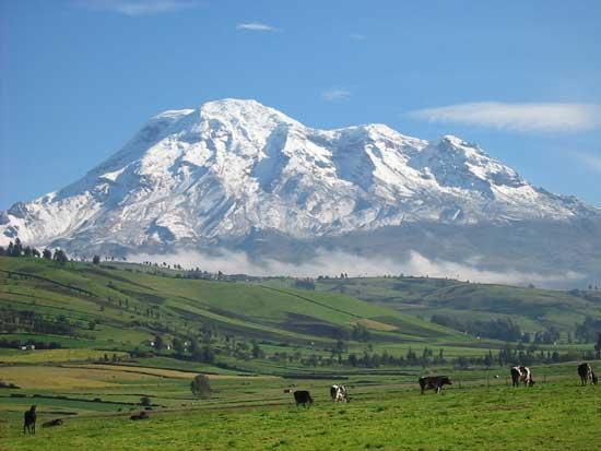 """il chimborazo: la montagna """"più alta"""" della terra - focus.it"""