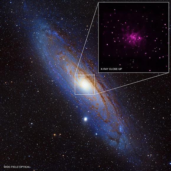 Buchi neri in abbondanza nella galassia di Andromeda ...